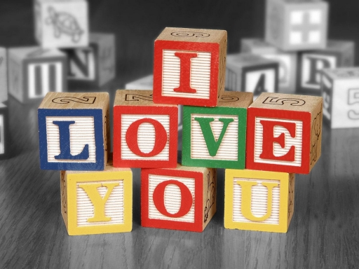 I love you  box of bricks desktop wallpapers. I love you  box of bricks free hq wallpapers. I love you  box of bricks