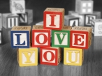 I love you  box of bricks desktop wallpapers|free hq hd wallpapers I love you  box of bricks