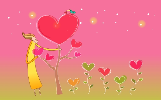 Valentine s Day trees desktop wallpapers. Valentine s Day trees free hq wallpapers. Valentine s Day trees