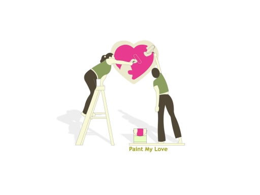 Paint my love desktop wallpapers. Paint my love free hq wallpapers. Paint my love