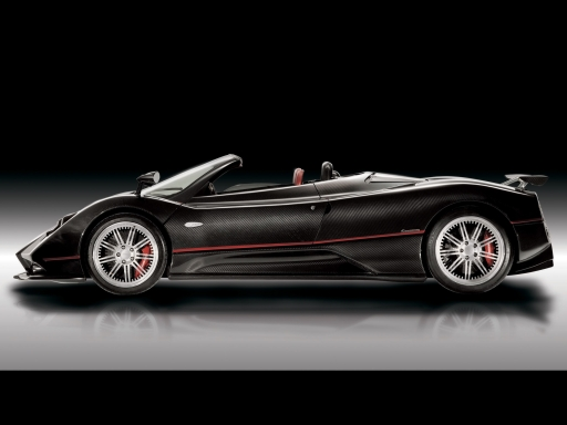 Pagani Zonda R   side view desktop wallpapers. Pagani Zonda R   side view free hq wallpapers. Pagani Zonda R   side view