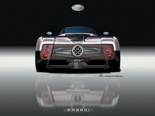 Pagani   back side desktop wallpapers. Pagani   back side free hq wallpapers. Pagani   back side