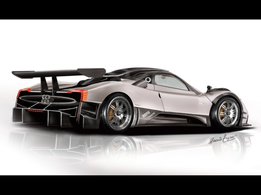 Gray Pagani desktop wallpapers. Gray Pagani free hq wallpapers. Gray Pagani