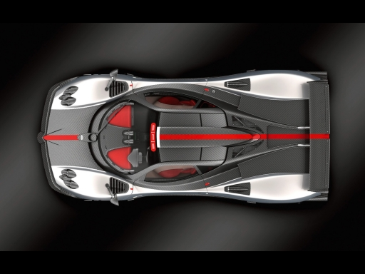 White Gray Pagani   top view desktop wallpapers. White Gray Pagani   top view free hq wallpapers. White Gray Pagani   top view