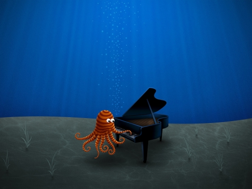 Underwater music desktop wallpapers. Underwater music free hq wallpapers. Underwater music