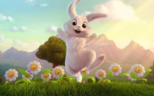 Nice rabbit desktop wallpapers. Nice rabbit free hq wallpapers. Nice rabbit
