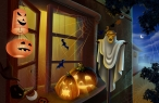 Halloween desktop wallpapers|free hq hd wallpapers Halloween