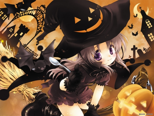Anime witch desktop wallpapers. Anime witch free hq wallpapers. Anime witch