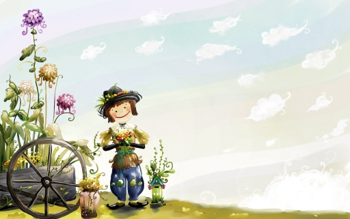 Scarecrow desktop wallpapers. Scarecrow free hq wallpapers. Scarecrow