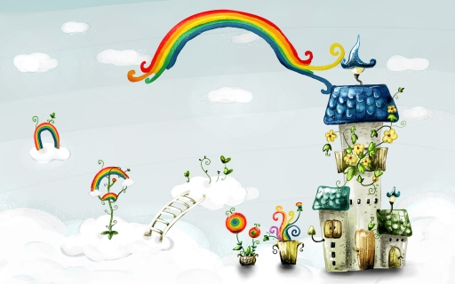 Rainbow desktop wallpapers. Rainbow free hq wallpapers. Rainbow