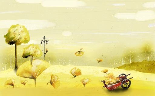 Gold automn desktop wallpapers. Gold automn free hq wallpapers. Gold automn