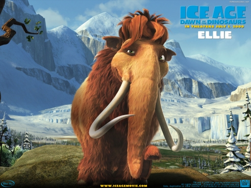 IceAge3 - Ellie desktop wallpapers. IceAge3 - Ellie free hq wallpapers. IceAge3 - Ellie