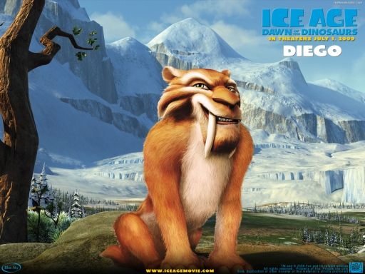 IceAge3 - Diego desktop wallpapers. IceAge3 - Diego free hq wallpapers. IceAge3 - Diego