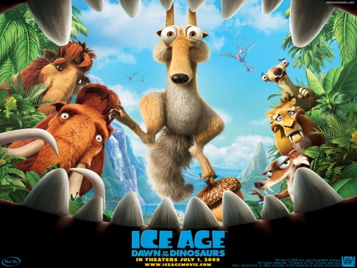 IceAge 3 desktop wallpapers. IceAge 3 free hq wallpapers. IceAge 3