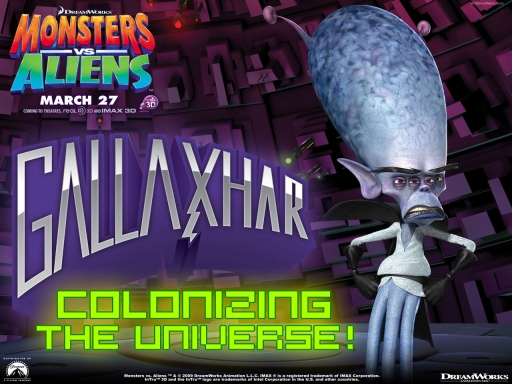 Monsters vs aliens   Gallaxhar desktop wallpapers. Monsters vs aliens   Gallaxhar free hq wallpapers. Monsters vs aliens   Gallaxhar