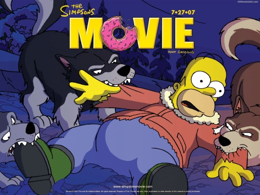 TheSimpsonsMovie   Homer and wolves desktop wallpapers. TheSimpsonsMovie   Homer and wolves free hq wallpapers. TheSimpsonsMovie   Homer and wolves