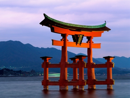 Grand Gate  Itsukushima Shrine  Miyajima  Japan desktop wallpapers. Grand Gate  Itsukushima Shrine  Miyajima  Japan free hq wallpapers. Grand Gate  Itsukushima Shrine  Miyajima  Japan