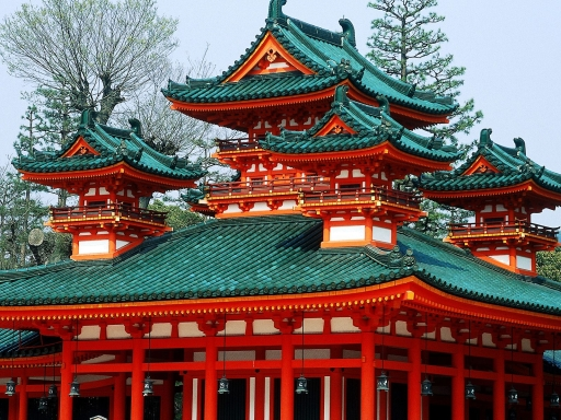 Heian Shrine  Kyoto  Japan desktop wallpapers. Heian Shrine  Kyoto  Japan free hq wallpapers. Heian Shrine  Kyoto  Japan