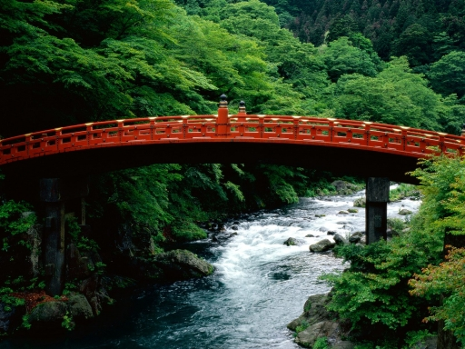 The Sacred Bridge  Daiya River  Nikko  Japan desktop wallpapers. The Sacred Bridge  Daiya River  Nikko  Japan free hq wallpapers. The Sacred Bridge  Daiya River  Nikko  Japan
