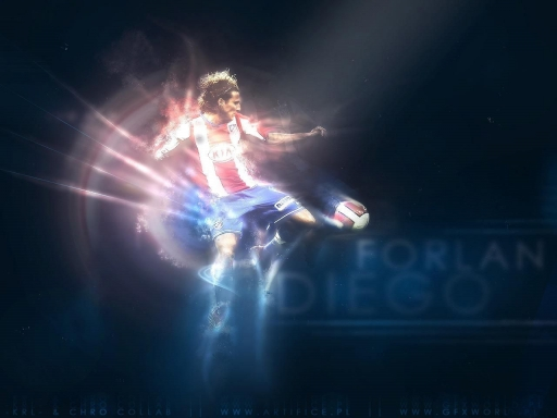 Forlan Diego desktop wallpapers. Forlan Diego free hq wallpapers. Forlan Diego