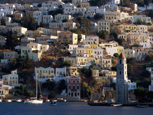 Harbor Town of Yialos  Island of Symi  Greece desktop wallpapers. Harbor Town of Yialos  Island of Symi  Greece free hq wallpapers. Harbor Town of Yialos  Island of Symi  Greece