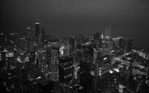 Chicago at night desktop wallpapers. Chicago at night free hq wallpapers. Chicago at night
