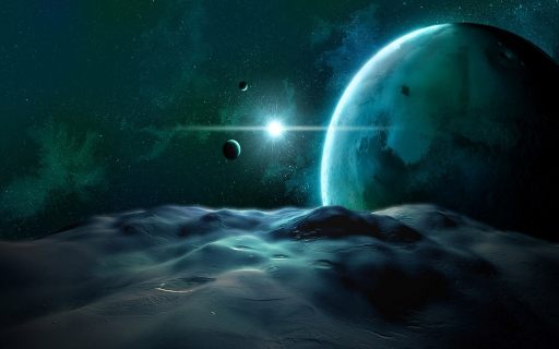 Desert in space desktop wallpapers. Desert in space free hq wallpapers. Desert in space