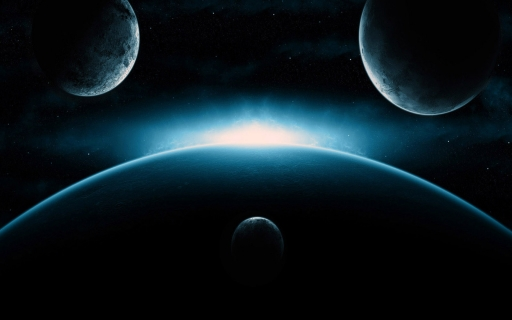 Four planets desktop wallpapers. Four planets free hq wallpapers. Four planets