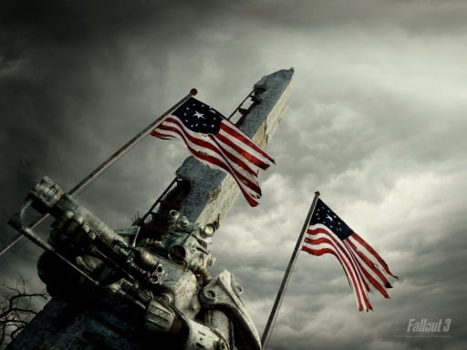 Fallout 3  and usa desktop wallpapers. Fallout 3  and usa free hq wallpapers. Fallout 3  and usa